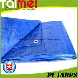 50GSM~80GSM D. impermeável azul PE oleados para prender a tampa /Exterior cobrir