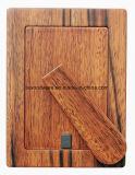Photo de fini de satin de noix/cadre de tableau en bois