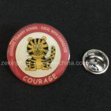 Custom insigne d'animaux d'impression en acier inoxydable