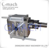 Transferência de fusão do polímero e bomba de Pressurização da Bomba de Engrenagens de derretimento de polímero
