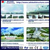 Estructura de acero inoxidable Taller-Casas-Acero Almacén