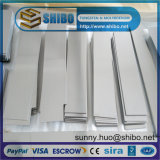 Tungsten puro Sheet, Tungsten Plate per Furnace Construction