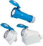 Plugues e tomadas industriais IP44 Cee / IEC para macho
