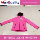 Обслуживание осмотра качественного контрола курток Softshell на Lean, Jiangxi