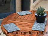 Mini pavimentazione del giardino delle mattonelle di mosaico del ciottolo delle mattonelle sottili blu