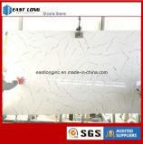Pedra de quartzo artificial de cores em mármore de bancada de cozinha/ Vaidade topo/ Banho Topo