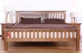 Кровати твердой деревянной кровати самомоднейшие двойные (M-X2244)