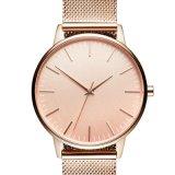 Caja de oro rosa Negro Ver Mens relojes personalizados Logotipo personalizado grabado con Logo Watch reloj hombres