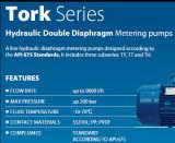 Cuento por entregas de dosificación de Tork de la bomba de Seko para el tratamiento de aguas del RO