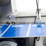 Machine à étiquettes de collant semi-automatique pour la bouteille en verre d'animal familier