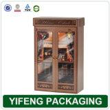 Personnaliser 2 bouteille de vin de conception moderne de luxe Creative Emballage (FJ-010)