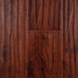 8.3mm及び12.3mm防水Handscrapedの表面の積層物によって薄板にされる木製のフロアーリング