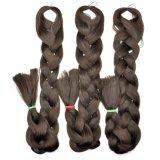 Vente en gros 2016 synthétique de prolongation de cheveux de tresse enorme de Yaki Kanekalon de tresse de cheveux 100% Lbh 046