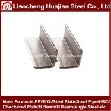 Barra de ángulo del acero suave A36 en China