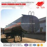 37 pieds de longueur remorque de camion-citerne d'huile de lubrification