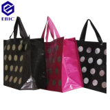 Woven rivestito Nonwoven RPET Shopping Bag con Handles e Printing
