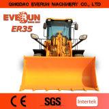 Chargeur 2017 approuvé de roue de la construction Zl30 de la CE d'Everun avec des dispositifs de protection en cas de renversement
