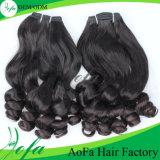 Нарисованные двойником горячие продавая волосы девственницы выдвижения человеческих волос бразильские