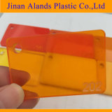 De alta calidad baratos colorido polimetilmetacrilato PMMA placas de acrílico