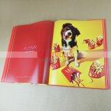 Полноцветный один цветной печати книги книга собрала печать