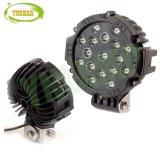 7 polegada 51W Preto Offroad Spot LED da Lâmpada da Luz de Direção Automática
