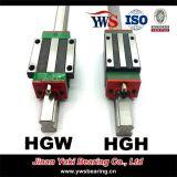 鉄道システムのHgw15 HGH15の線形ブロックが付いている直線運動ガイドHgr15線形ベアリングの滑走