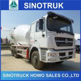 HOWO 6*4 336/371HP 8-12m3の具体的なミキサーのトラック