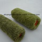 Rullo di vernice verde della poliammide del filetto di Piile 18mm con la maniglia di plastica