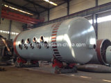 Chemical Rotary Kiln Certified by BV, SGS, ISO9001: 2008