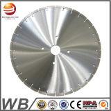 La circular del diamante del disco vio la lámina para el corte de piedra del mármol del granito