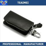 Étui en cuir véritable avec sac à main Clip Porte-clés Porte-clés