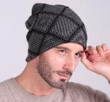 Hut spätester der Jersey-Wolle-Ski-warmer Set-Kopf-Männer und der Frauen