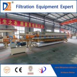 Nuova filtropressa 2017 della membrana della Cina per il trattamento di acque luride della tessile