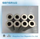 N42 de Permanente Gemagnetiseerde Magneet van de Ring van de Magneet van het Neodymium met Radiaal