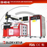 Máquina de soldadura automática do laser de 4 linhas centrais