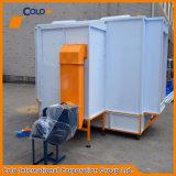 Cabina manuale del rivestimento della polvere per colore facile del cambiamento