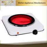 Solo de infrarrojos de la estufa de cerámica de cocina de 1200W de la placa de cocina