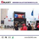 La pantalla/la visualización publicitarias móviles al aire libre a todo color de los carros de P5/P6/P8/P10 LED para fijo instala, alquiler