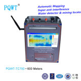 Wasser-Sucher Automapping Systems-Grundwasser-Befund 600m der hohen Genauigkeits-Pqwt-Tc700