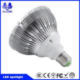 Luz interna Dimmable MR16 GU10 do ponto do diodo emissor de luz do projector 7X1w 7W