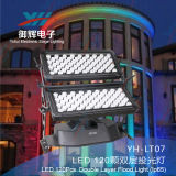Il nuovo indicatore luminoso RGBW di colore della città di IP65 120PCS 10W LED impermeabilizza l'illuminazione di inondazione esterna dell'indicatore luminoso LED