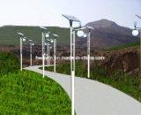 luzes solares do jardim da rua do diodo emissor de luz 7W de 3m