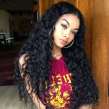 Virgin Cheveux humains Kinky Curly Full Lace Wig/Lace Front Wig