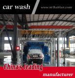 Автоматическая машина мытья автомобиля тоннеля с щетками колеса для промотирования