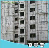 Painel de parede do sanduíche do cimento do EPS do material de construção da estrutura concreta da estrutura do frame de aço para a parede interior de parede exterior