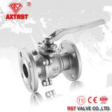 SUS316 / 304 / Wcb JIS 10k 2PC фланцевый шаровой клапан 15A-200A