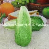 Modelo verde vegetal artificial de la PU de la Alimentación