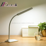 El LED protege el ojo para aprender leer la lámpara de vector para el dormitorio