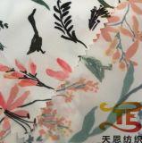 75D 높은 탄력 있는 여자 의복을%s 견주에 의하여 인쇄되는 폴리에스테 직물