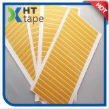 Nastro di vetro della fibra di vetro a doppia faccia gialla
